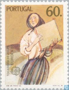 Postage Stamps - Portugal [PRT] - Europe – Music Year