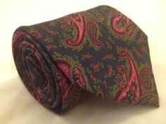 Superb ETRO MILANO Silk PAISLEY JACQUARD NECKTIE Tie MADE IN ITALY Eye Candy…