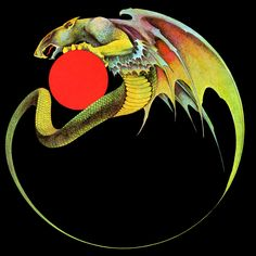 You can't actually get any more than an album cover or painting by Roger Dean. Dragon's Dream published Views , a best-of comb. Roger Dean, Dragon Dreaming, Heavy Metal Art, 70s Sci Fi Art, Fantasy Illustration, Dragon Art, Concert Posters, Rock Art, Album Covers