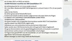 Presseschau zu den Protesten gegen die EZB vs.Kommentar aus der ARD eines Ex-Polizisten