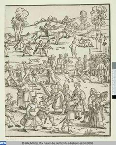 title  The village parish fair  person  Beham, Sebald(Inventor, engraver)  dating  1535