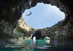 De Blauwe grotten van Malta
