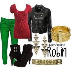 Teen titans-robin outfit