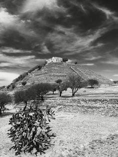 Pirámide en cerrito Queretaro
