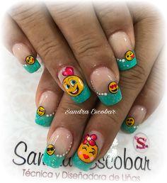 Gel Manicure Designs, Nail Designs, Ruby Nails, Nailart, Feet Nails, Acrylic Nails, Beauty, Nail Arts, Art Nails