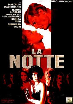 1961. La notte, Michelangelo Antonioni