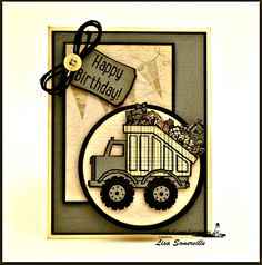 Designs by Lisa Somerville: Can You Dig It - North Coast Creations December Release