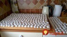Moja svokra ich pečie na svadby pre celú dedinu. Sú vynikajúce a to nielen na slávnostnú príležitosť.  Potrebujeme (na cca 160-170) kusov:  1 kg hladkej múky    4 žĺtky    500 ml mlieka    150 g cukru krupice    400 g majonézy    ½ lyžičky soli    2 kocky