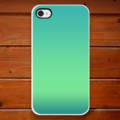 iPhone Case - Seaside Ombre - Blue - Green - Turquoise - iPhone 4 - iPhone 4S. $25.00, via Etsy.