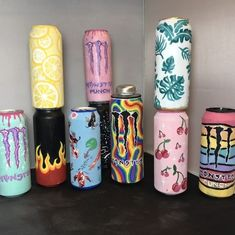 Monster Room, Monster Energy Girls, Indie Room Decor, Cute Bedroom Decor, Diy Crafts To Do, Cute Crafts, Bebidas Energéticas Monster, Cd Wall Art, Monster Decorations