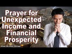 Prayer for Unexpected Income - Powerful Money Affirmations Faith Prayer, God Prayer, Prayer Quotes, Power Of Prayer, Faith In God, Prayer For Financial Help, Prayer For Finances, Financial Prayers, Dave Ramsey