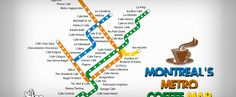 Montreal's First-Ever Official Metro Coffee Map
