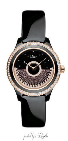 Regilla ⚜ Fil de soie, the new line of precious watches by Dior 2015