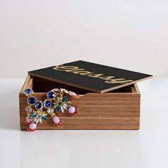 Classy And Glittering Jewelry Box