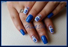 Bluesky gel polish Neon N32, 546 http://radi-d.blogspot.com/2015/04/blue-orchid.html