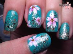 Gilded Cherry Blossoms