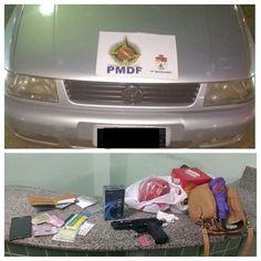 Foto: PMDF/internet/reprodução.     Ontem (23) por volta de 22h policiais militares de Planaltina ...