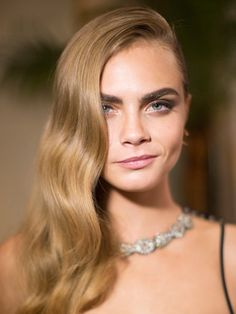 Cara Delevingne's Soft Smoky Eye