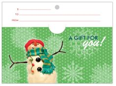 SAFE Holiday Gift Cards by Susan Burns, via Behance