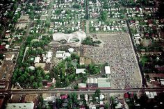 An aerial view of the old Elitch's Amusement Park at W. and Tennyson. Lakeside Mall, Birds Eye View, Denver Colorado, School Memories, Childhood Memories, Aerial View, Rocky Mountains, Old Town, Paris Skyline