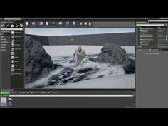 UE4 - How to Make Dynamic Flowing Water - YouTube