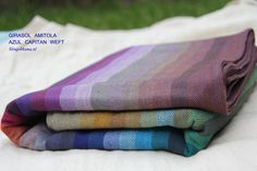 Girasol Amitola - SlingoMama (Size 6 $132) Baby Wearing Wrap, Picnic Blanket, Outdoor Blanket, Woven Wrap, Baby Wraps, Plaid Scarf, Quilts, Babywearing, Babies