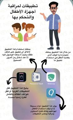 Organize Phone Apps, Contrôle Parental, Iphone App Layout, Vie Motivation, Learning Websites, Learn English Words, Editing Apps, Baby Education, Photo Quotes