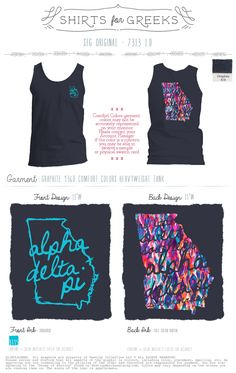 Alpha Delta Pi Shirts | Southern Sweet Life | ADPi Shirts | Greek Life | Sorority Shirts | Sisterhood | shirtsforgreeks.com