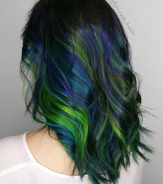 Peacock Twist Hairstyle