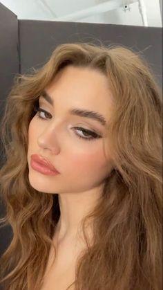 Cute Makeup, Pretty Makeup, Beauty Makeup, Makeup Looks, Hair Makeup, Hair Beauty, Aesthetic Hair, Aesthetic Makeup, Dream Hair