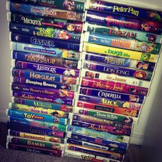 I still have ALL of these...except for Casper...i wasnt allowed to watch Casper as a kid lol go figure my mom would let me watch tales from the crypt but not Casper...makes sense...