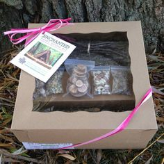 Fairy or Hobbit House Building Kit by FatBlossomFarm on Etsy, $25.00 Great for imaginative play!
