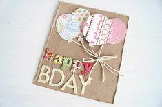 ✄ DIY BIRTHDAY CARD #DIY #birthdaycard #card