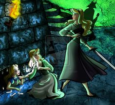 Disney Princess Threatened IV by forgotten-ladies.deviantart.com on @deviantART