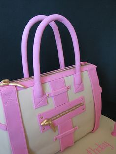 Handbag Cake by phillipascakes, via Flickr