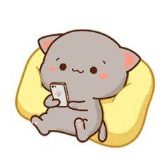 40 Ideas For Funny Cute Wallpapers Kawaii Cute Anime Cat, Anime Kitten, Cute Cat Gif, Funny Cute, Cute Cats, Cute Bear Drawings, Cute Cartoon Drawings, Cute Kawaii Drawings, Cute Cartoon Pictures