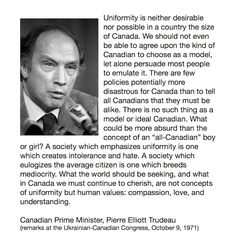 Canadian thoughts on diversity [1971]