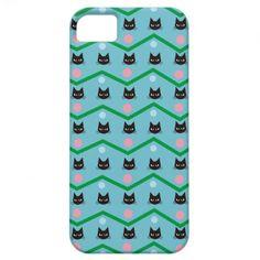 Cat Pattern iPhone 5 Cases