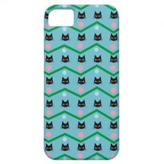 Cat Pattern iPhone 5 Cases