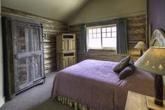 Cabin Master Bedrooms