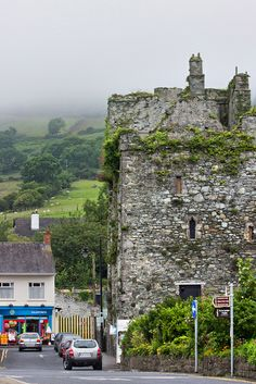 """Taaffe's Castle, also known as King John's Castle, Carlingford, Co Louth, Ireland 