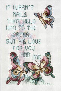 Zijn Liefde ...  - Cross Stitch Kit