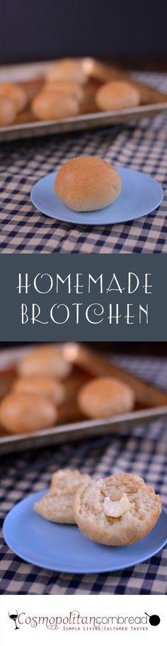 How to make Homemade Brotchen from Cosmopolitan Cornbread   #SundaySupper