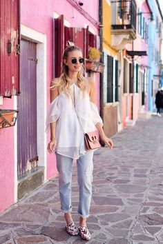 Leonie jeans & Colors | Venice, Italy