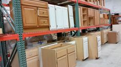 Cabinets Galore At Our Southcenter Habitat Store! New Ones Come In All The  Time.