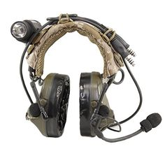 Amazon.com : USTS Advanced Modular Headset Cover (Multicam + Accessory Bundle) : Sports & Outdoors