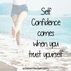 A Guide to Confidence - Achieve Mountain