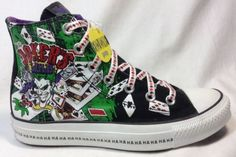 Amputee Shoe Converse All Star 5 Boys Chuck Taylor DC Comics Right Shoe Only New