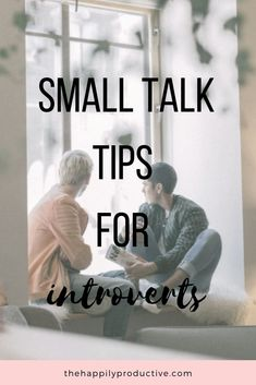 Discover 4 actually helpful Small Talk Tips for Introverts! You'll never have to indure awkward silence or uncomfortable conversations again. Extroverted Introvert, Introvert Quotes, Introvert Problems, Infj, How To Get Better, Social Anxiety, Anxiety Help, Small Talk, Make New Friends