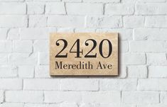 Engraved, Honed Travertine Sign House Sign x x Personalised, Custom, REAL Travertine, Laser Engraving, Create Yourself, Signs, Shop Signs, Sign